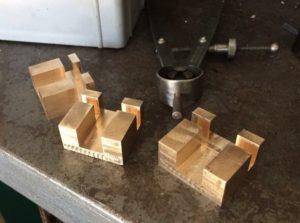 Slide valves made by Ben Pavier Locomotive Works