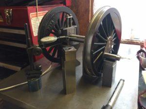 Wheel Quartering Services by Ben Pavier Locomotive Works