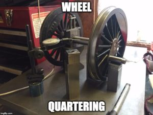 Wheel Quartering Services by Ben Pavier Locomotive Works