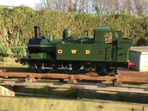 Kingscale GWR 14xx 5 Inch, Live Steam Locomotive