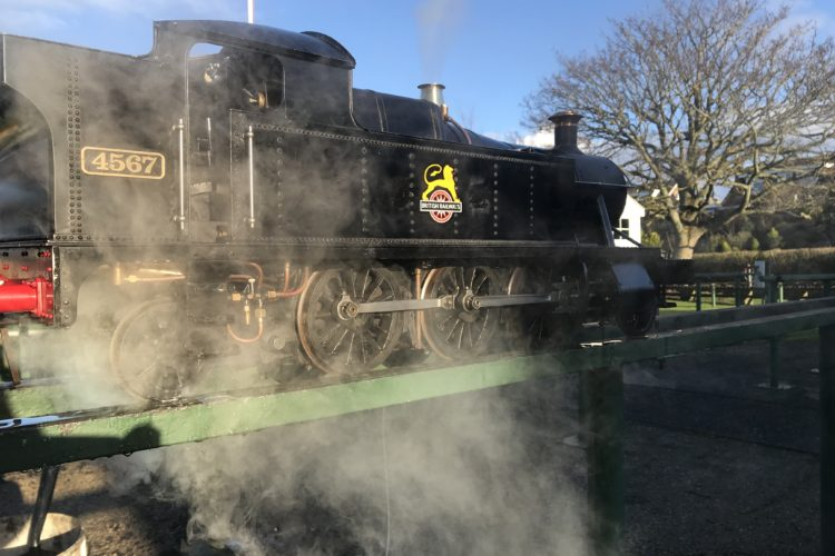 GWR 5 Inch Prairie Tank, Live Steam Locomotive
