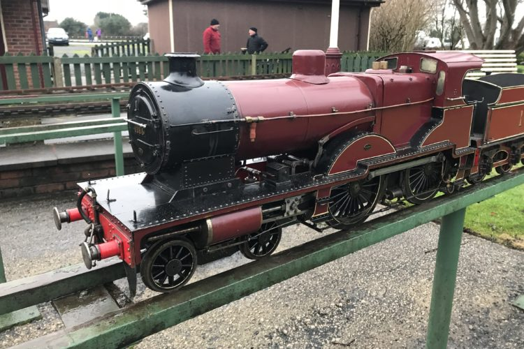 Midland Compound 5 Inch, Live Steam Locomotive