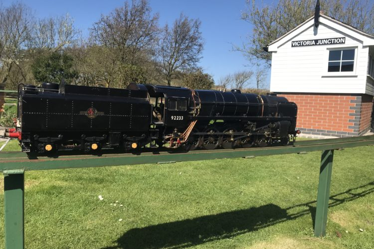 9F 92233 - 3 1/2 Inch, Live Steam Locomotive