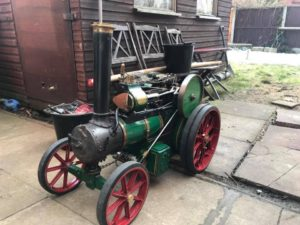 Scale 3 Inch Traction Engine, Live Steam Road Traction