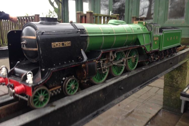 "Hielen Lassie ""Mons Meg"" 4-6-2 LNER Pacific Class, Live Steam Locomotive"